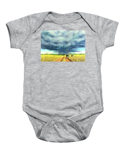 African Storm Baby Onesie by Tilly Willis