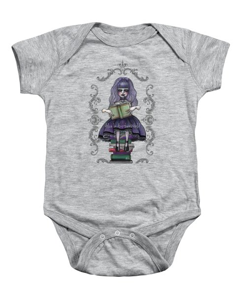 Alice In Another World 2 Baby Onesie by Akiko Okabe