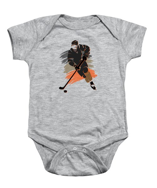 Anaheim Ducks Player Shirt Baby Onesie by Joe Hamilton