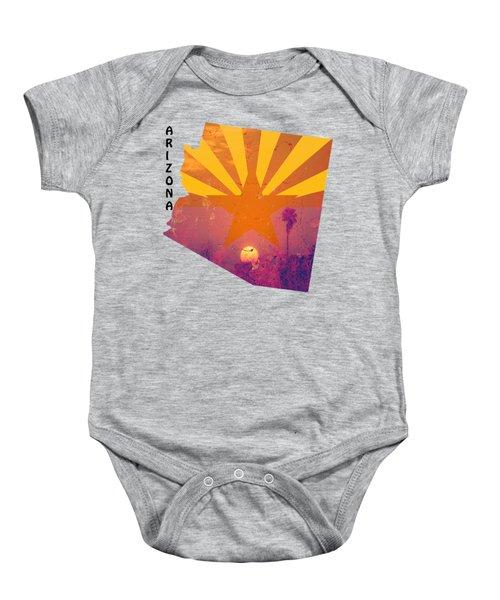 Arizona Baby Onesie by Beverly Guilliams