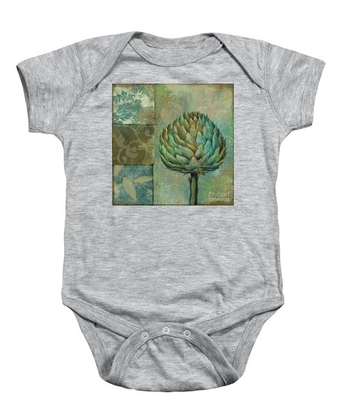 Artichoke Margaux Baby Onesie by Mindy Sommers