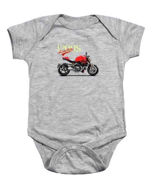 Ducati Monster Baby Onesie by Mark Rogan