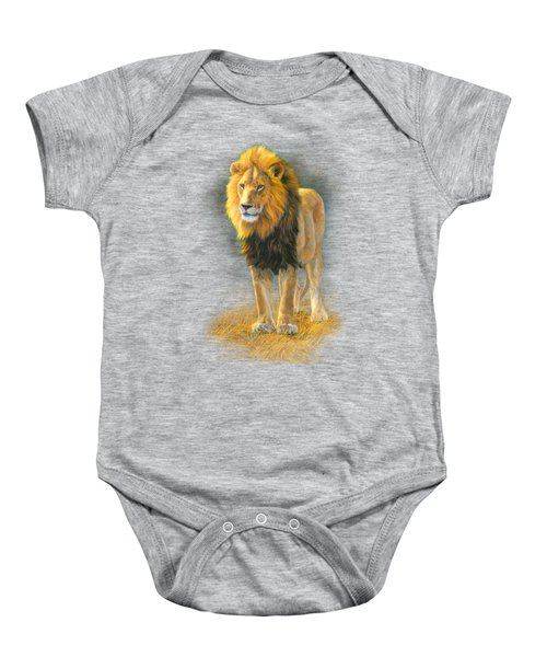In His Prime Baby Onesie by Lucie Bilodeau