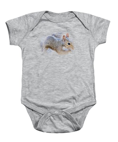 Another Peanut Please - Squirrel - Nature Baby Onesie by Barry Jones