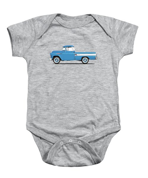 The Cameo Pickup Baby Onesie by Mark Rogan