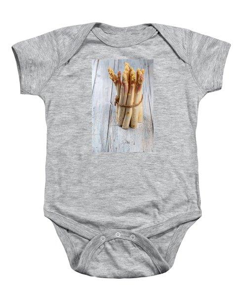 Asparagus Baby Onesie by Nailia Schwarz