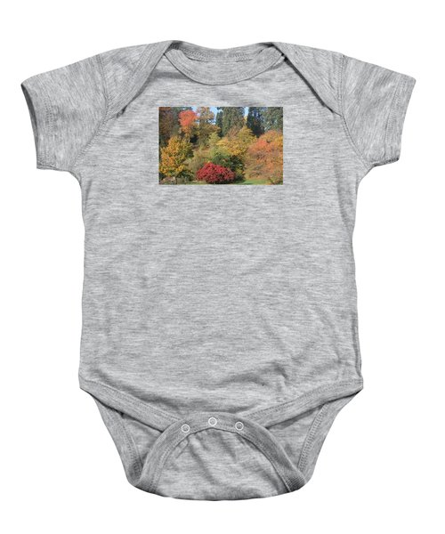 Baby Onesie featuring the photograph Autumn In Baden Baden by Travel Pics