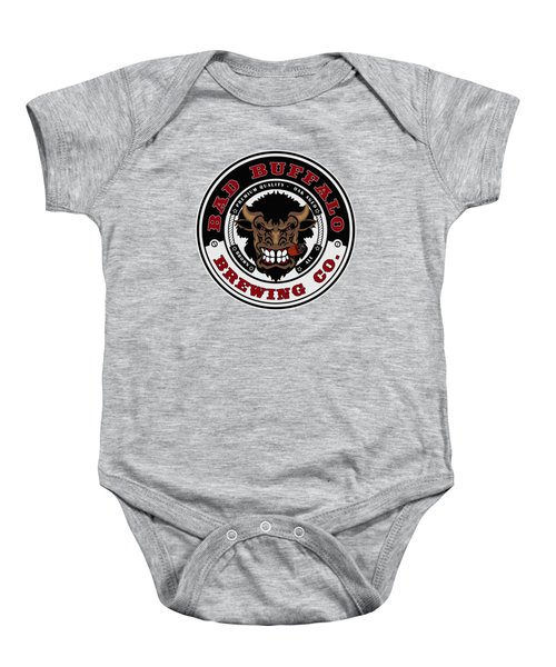Bad Buffalo Brewing Baby Onesie by Christopher Williams