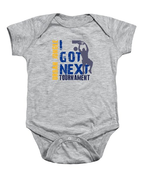 Basketball I Got Next 2 Baby Onesie by Joe Hamilton