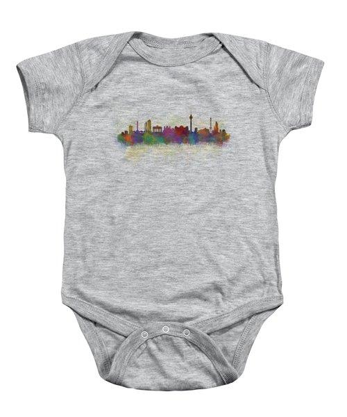 Berlin City Skyline Hq 5 Baby Onesie by HQ Photo