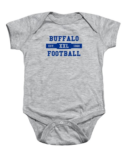 Bills Retro Shirt Baby Onesie by Joe Hamilton