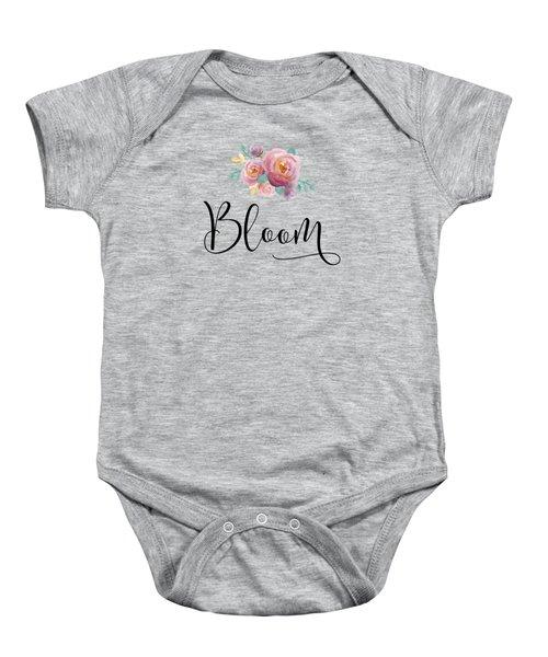 Bloom Baby Onesie by Nancy Ingersoll