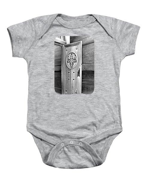 Castle Door Baby Onesie by Ethna Gillespie