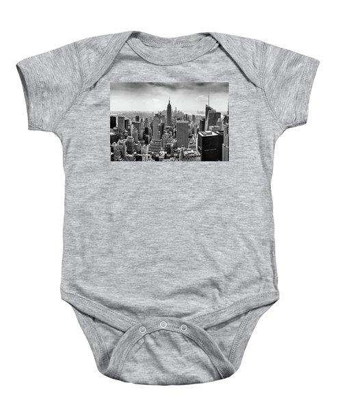 Classic New York  Baby Onesie by Az Jackson