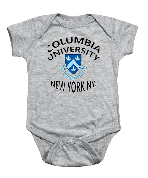 Columbia University New York Baby Onesie by Movie Poster Prints