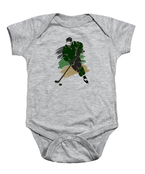 Dallas Stars Player Shirt Baby Onesie by Joe Hamilton