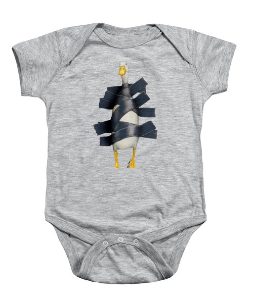 Duck Tape Baby Onesie by Will Bullas