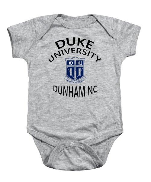 Duke University Dunham N C  Baby Onesie by Movie Poster Prints