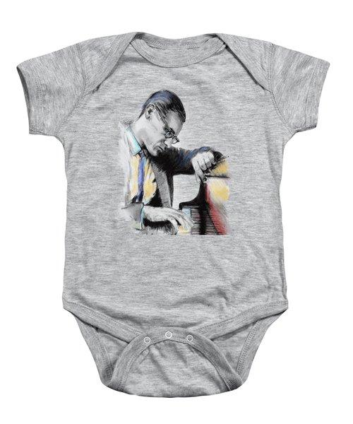 Evans Bill Baby Onesie by Melanie D
