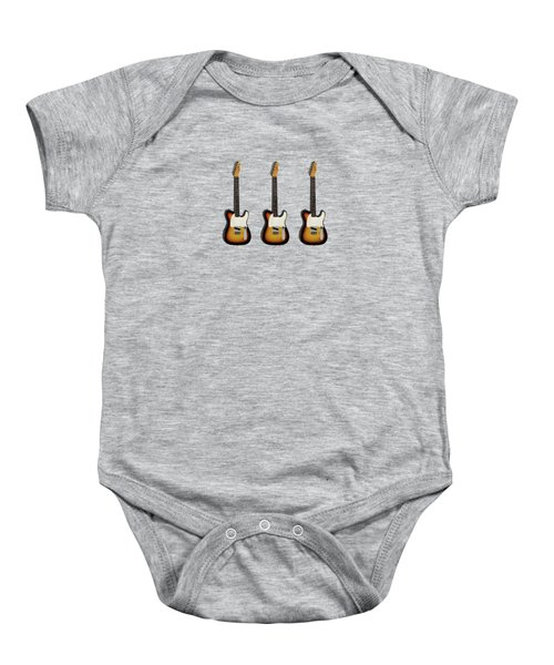 Fender Esquire 59 Baby Onesie by Mark Rogan