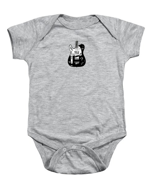 Fender Telecaster 52 Baby Onesie by Mark Rogan