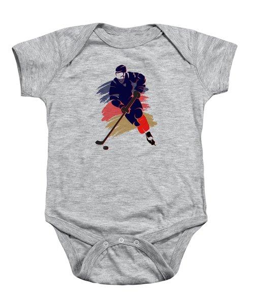 Florida Panthers Player Shirt Baby Onesie by Joe Hamilton