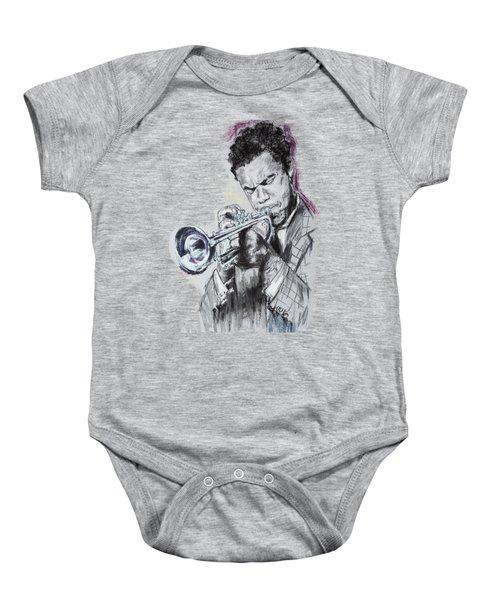 Freddie Hubbard Baby Onesie by Melanie D