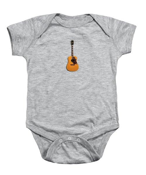 Gibson Hummingbird 1968 Baby Onesie by Mark Rogan