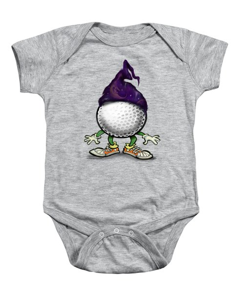 Golf Wizard Baby Onesie by Kevin Middleton