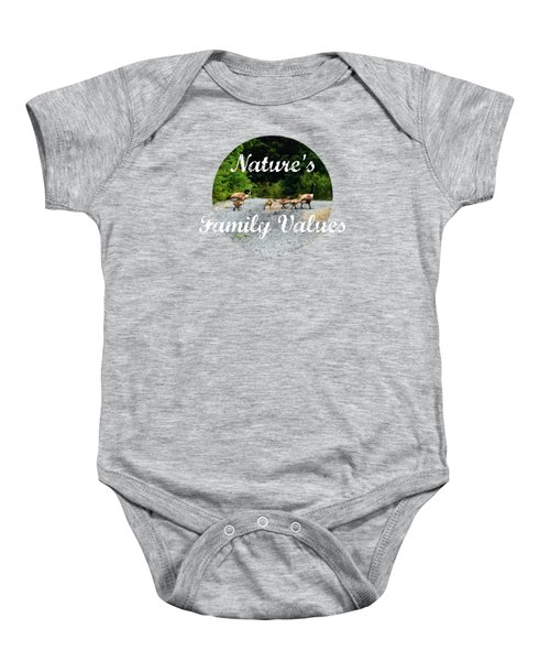 Goose Family Baby Onesie by Anita Faye