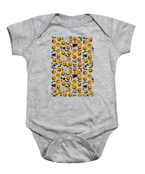 Halloween Party  Baby Onesie by Mark Ashkenazi
