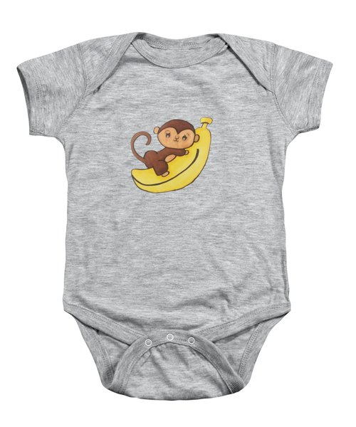 I Has A Banana Baby Onesie by Darci Smith