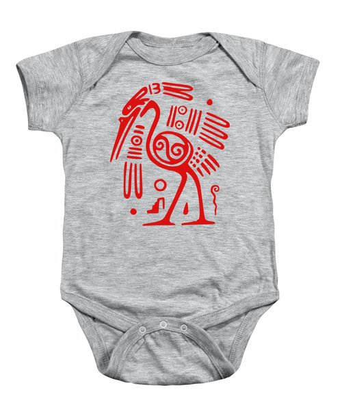 Ibis Baby Onesie by Frederick Holiday