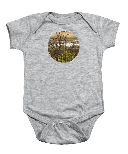 In The Golden Light Baby Onesie by Mary Wolf