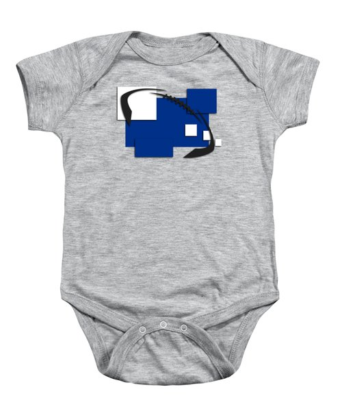 Indianapolis Colts Abstract Shirt Baby Onesie by Joe Hamilton