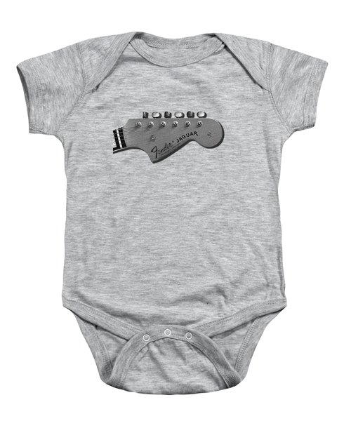 Jaguar Head Baby Onesie by Mark Rogan