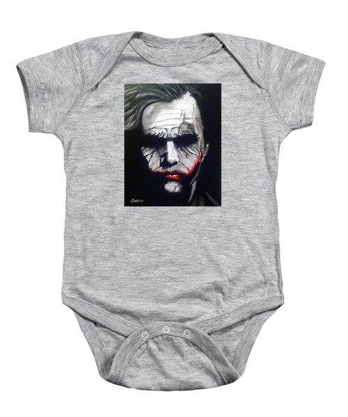 Joker Baby Onesie by John Svedese