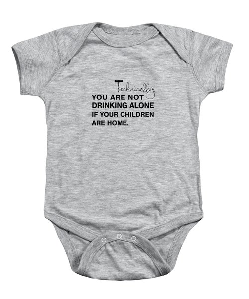 Kids Are Home Baby Onesie by Nancy Ingersoll