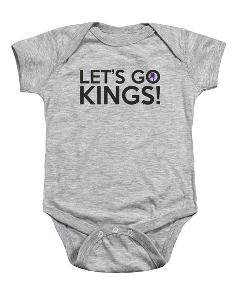 Let's Go Kings Baby Onesie by Florian Rodarte