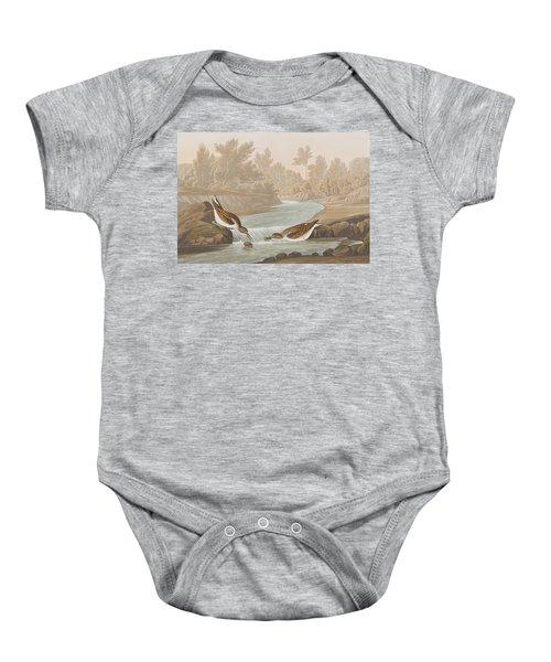 Little Sandpiper Baby Onesie by John James Audubon