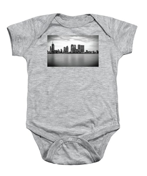 London Docklands Baby Onesie by Martin Newman