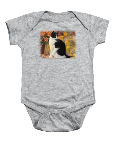Looking Afar Baby Onesie by Lucie Bilodeau
