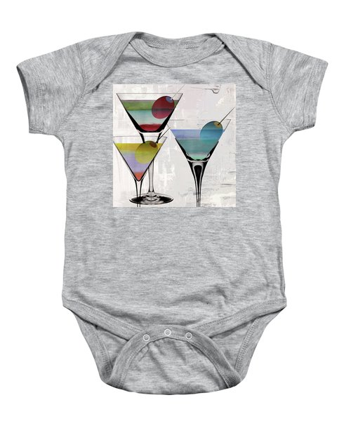 Martini Prism Baby Onesie by Mindy Sommers