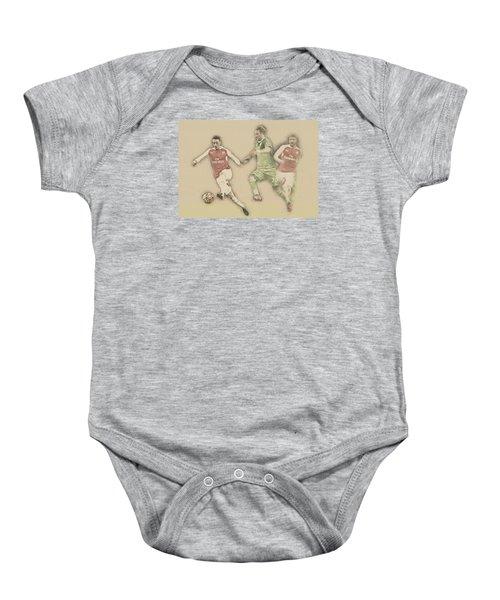Mesut Ozil Baby Onesie by Don Kuing