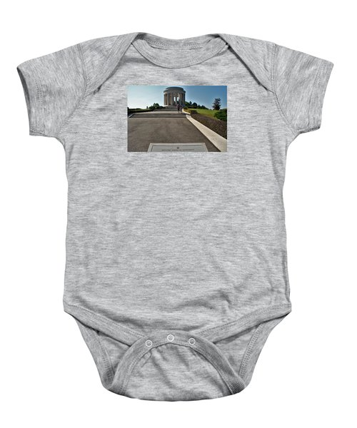 Baby Onesie featuring the photograph Montsec American Monument by Travel Pics
