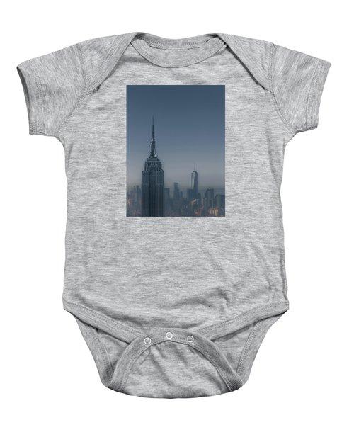 Morning In New York Baby Onesie by Chris Fletcher