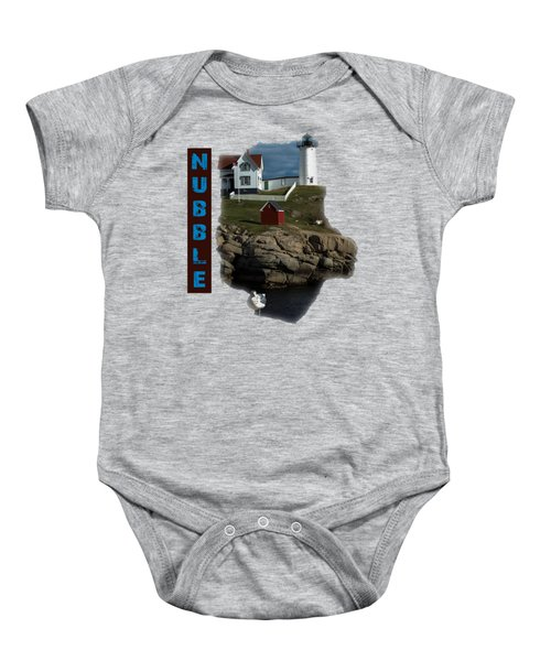 Nubble T-shirt Baby Onesie by Mim White