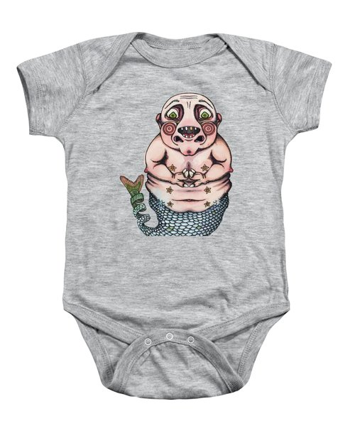 On The Pigs Back Baby Onesie by Kelly Jade King