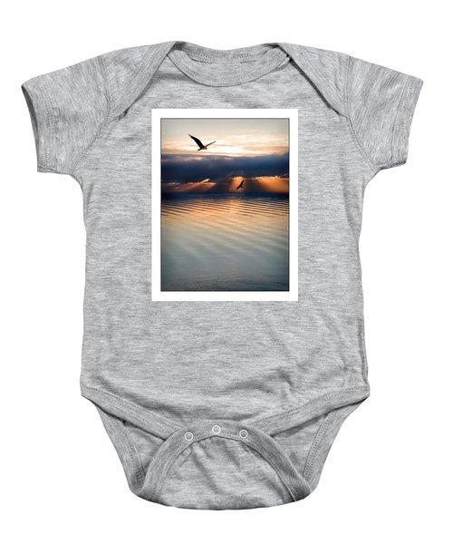 Ospreys Baby Onesie by Mal Bray