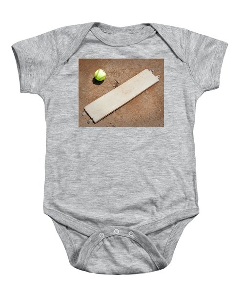 Pitchers Mound Baby Onesie by Kelley King
